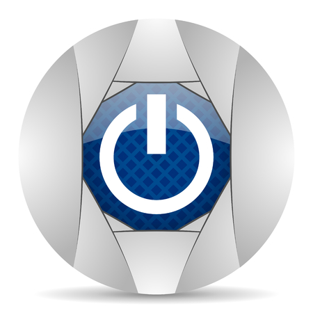 run off: power icon