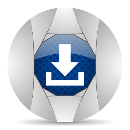 smarthone: download icon Stock Photo