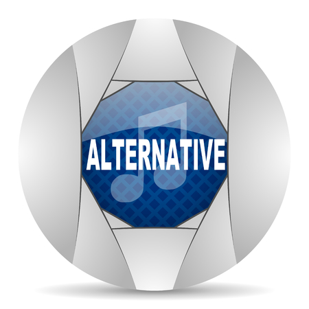 smarthone: alternative music icon Stock Photo