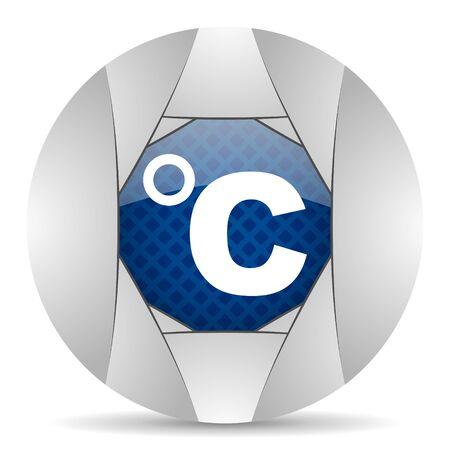 celcius: celsius icon Stock Photo