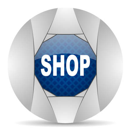 smarthone: shop icon Stock Photo