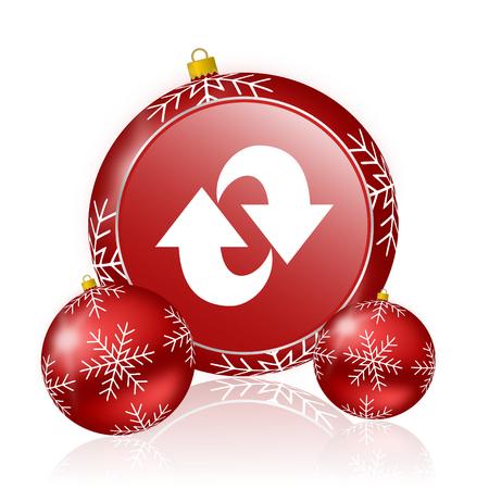 rotation: rotation christmas icon