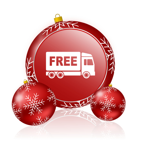 deliverance: free delivery christmas icon