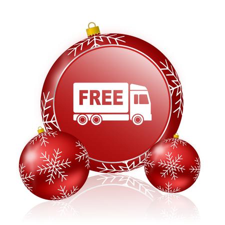 d�livrance: livraison gratuite no�l ic�ne