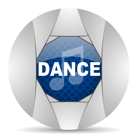 smarthone: dance music icon Stock Photo