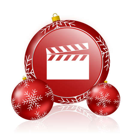 hollywood christmas: video christmas icon