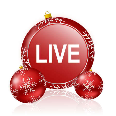 news cast: live christmas icon