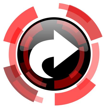 smarthone: next red modern web icon