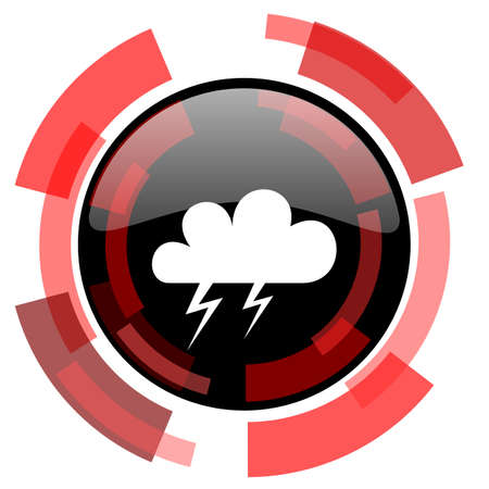 smarthone: storm red modern web icon