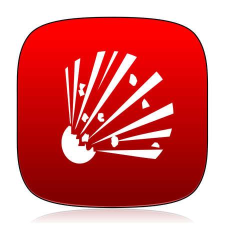 bomb: bomb icon Stock Photo