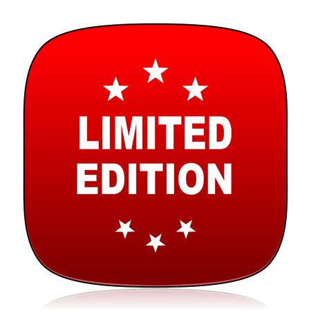 limited edition: limited edition icon Stock Photo