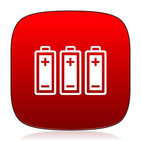 accuse: battery icon Stock Photo