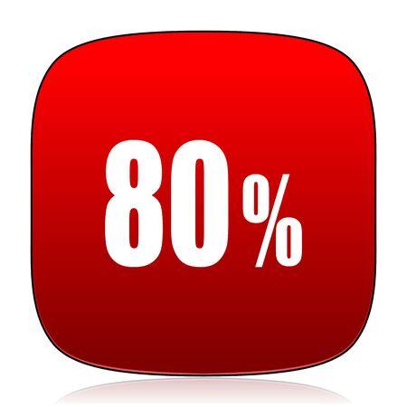 80: 80 percent icon