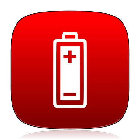 accuse: battery icon Stock Photo