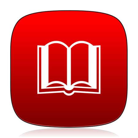 key pad: book icon Stock Photo