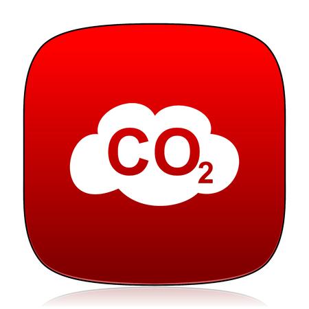 dioxido de carbono: icono de dióxido de carbono