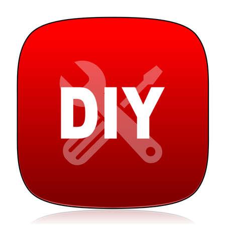 diy: diy icon Stock Photo
