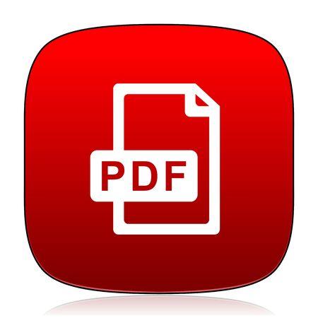 pdf: pdf file icon
