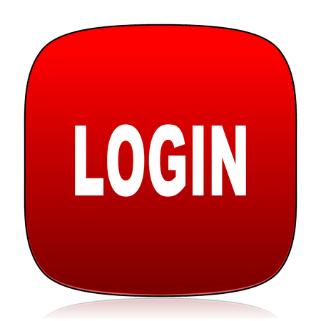 login icon: login icon Stock Photo