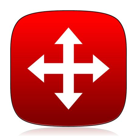 internet icon: arrow icon
