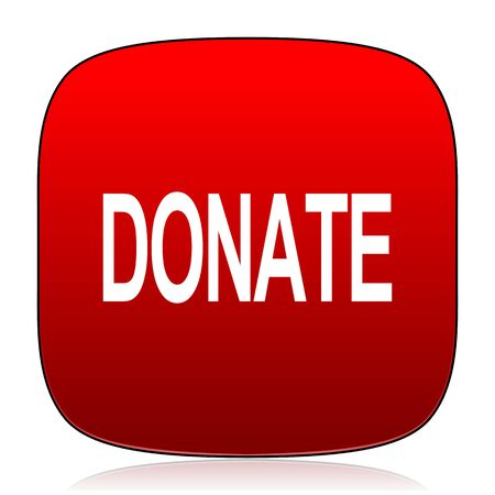 donate icon Stock Photo