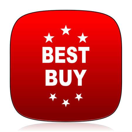 buy icon: best buy icon Stock Photo
