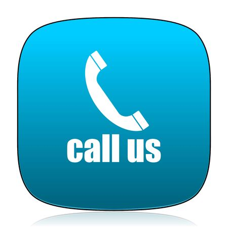 call us: call us blue icon