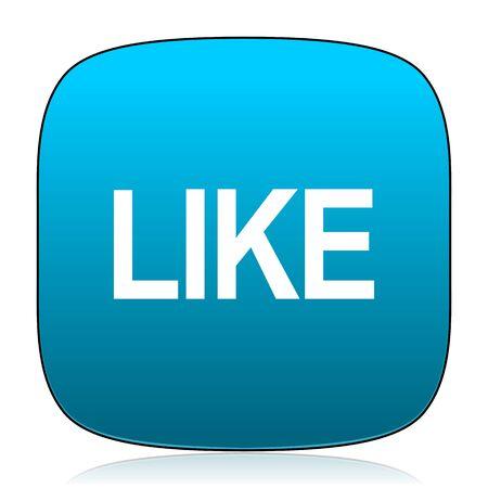 thumb keys: like blue icon