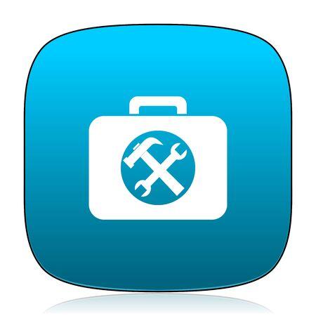 toolkit: toolkit blue icon