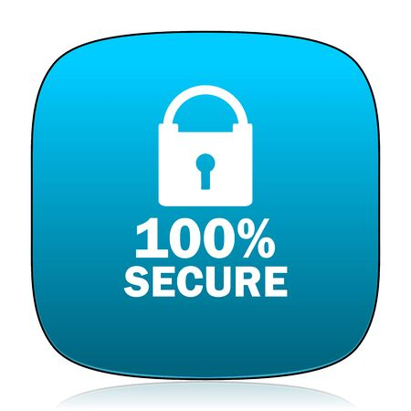 secure: secure blue icon