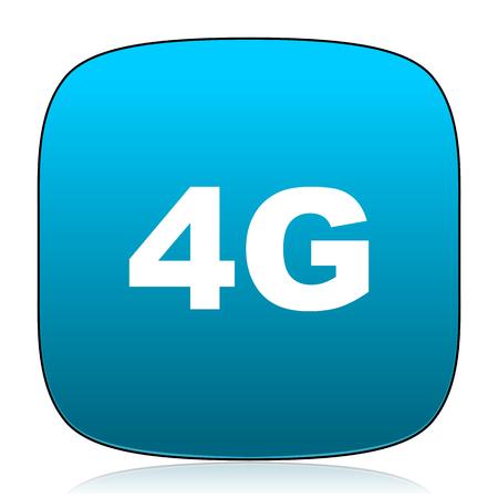 4g: 4g blue icon
