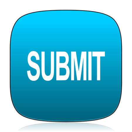 submit: submit blue icon