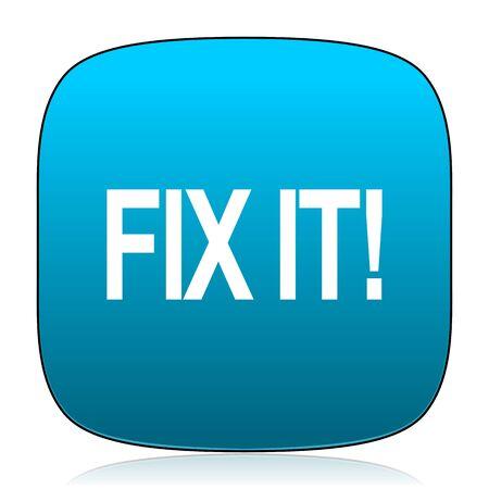 it: fix it blue icon