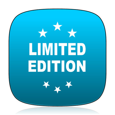limited: limited edition blue icon