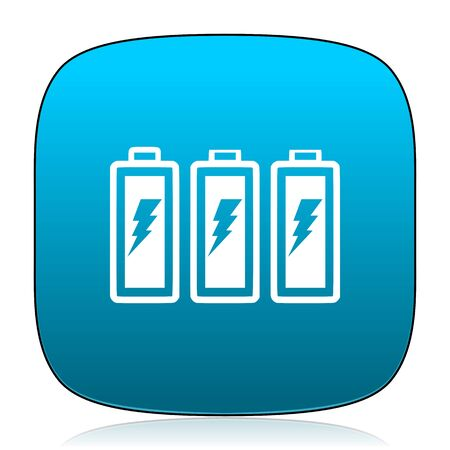 accuse: battery blue icon