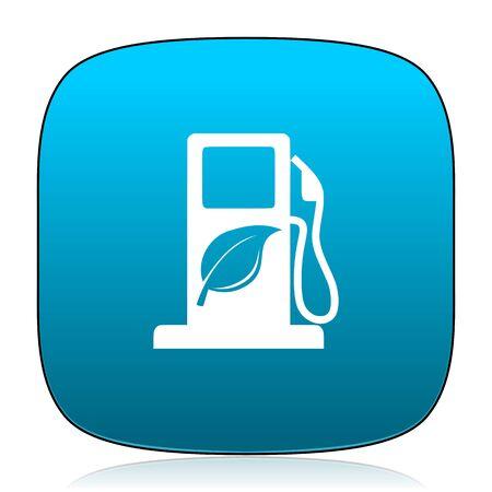 canola: biofuel blue icon