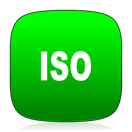 norm: iso green icon for web and mobile app