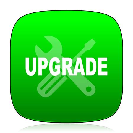 upgrade: upgrade green icon for web and mobile app