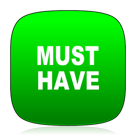 must: must have green icon for web and mobile app