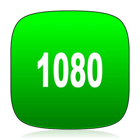 resolutions: 1080 green icon for web and mobile app