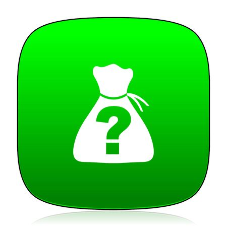 riddle: riddle green icon