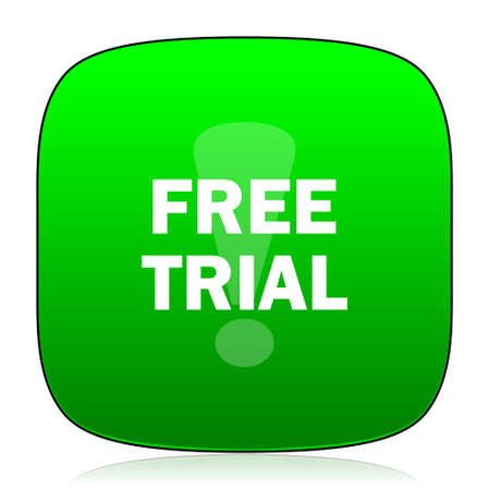 gratuity: free trial green icon