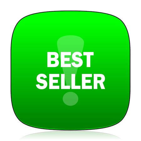 seller: best seller green icon