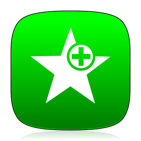 preference: star green icon