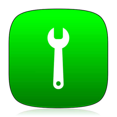 preferences: tool green icon