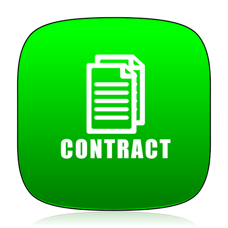 contraction: contract green icon