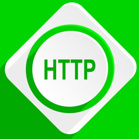 http: http green flat icon