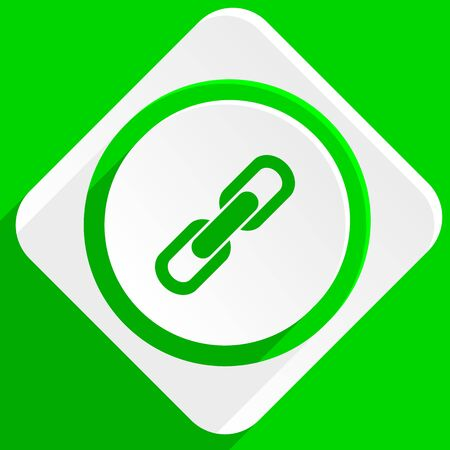 link: link green flat icon