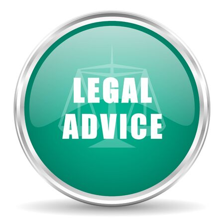 advisor: legal advice blue glossy circle web icon