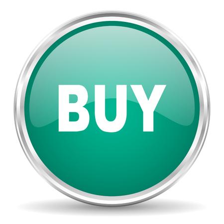 e market: buy blue glossy circle web icon